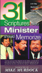 31 Scriptures Every Minister Should Memorize (E-Book)