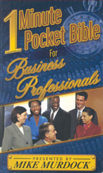 1 Minute Pocket Bible For Business Professionals