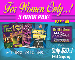 For Women Only 5 Book Pak