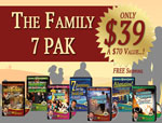 The Family 7 CD Pak