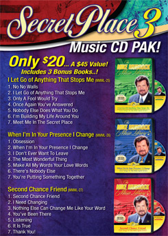 Secret Place 3 Music CD Pak