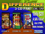 Difference 3 CD Pak