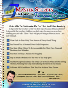 7 Master Secrets To Living In Financial Peace DL